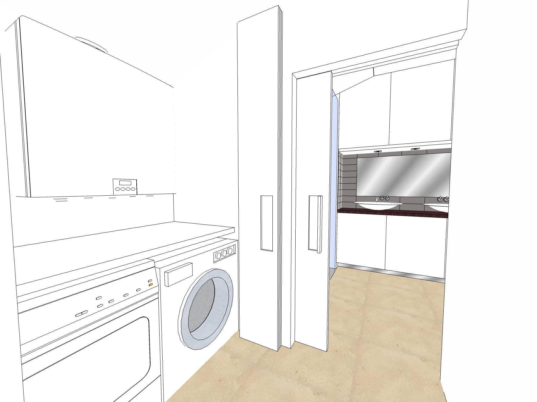 Badkamer sketchup badkamer ontwerp idee n for Cursus 3d tekenen interieur