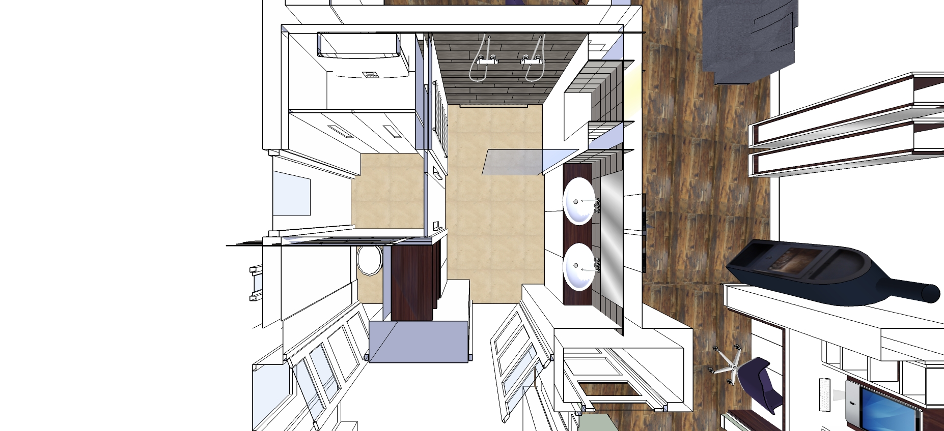 Woning \'s Gravendeel badkamer – INJOY
