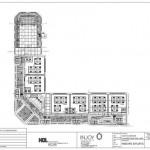 plafondplan 1e etage